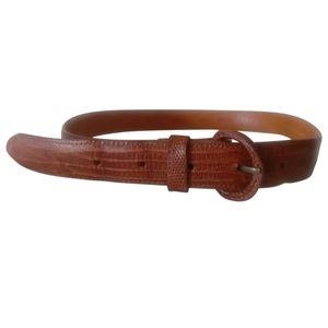 🇨🇦 Vintage snakeskin leather belt